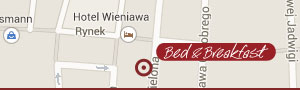 location of Wieniawa B&B
